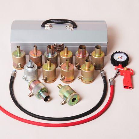 Для услуг в автосервисе: насадки для закачки азота в амортизаторы