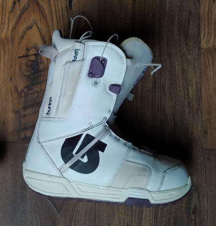BURTON MINT- buty snowboardowe damskie, rozmar 38 / rozmiar 7