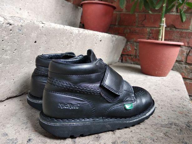 Кожаные ботинки,туфли,черевики