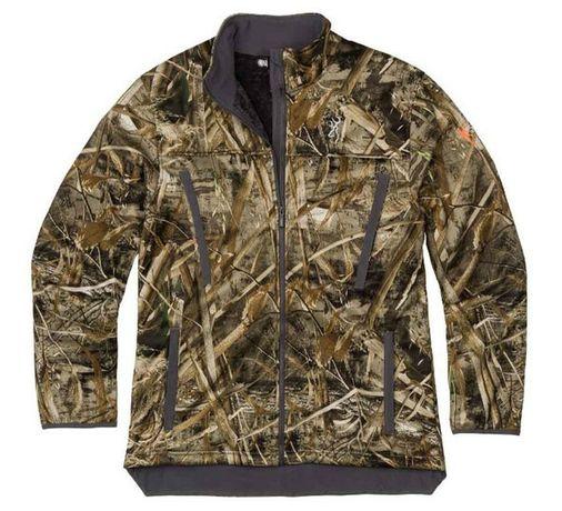 Курточка для охоты на утку Browning Realtree Max-5  сухой камыш.