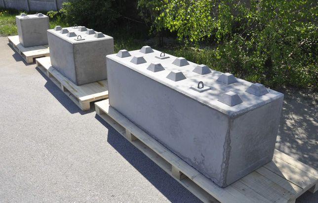 Bloki Betonowe, Mur oporowy, Zasieki, Boxy betonowe - ORYGINAŁ