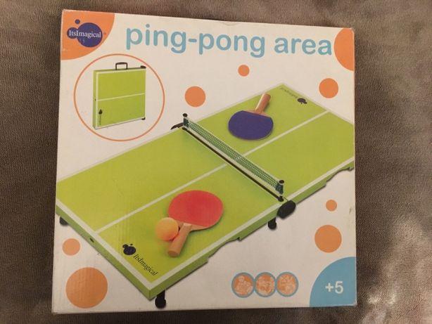 Mini mesa Ping Pong Imaginarium