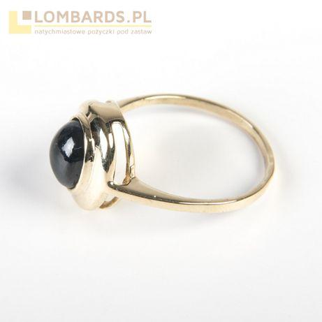 złoty pierścionek pr 585. id 17.1.21