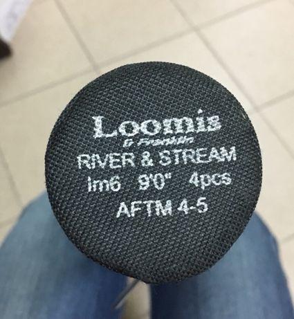 Wędka Loomis& Franklin river & stream 9ft