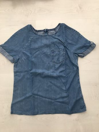 Bluzka f&f M 38 jeans dżins