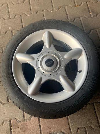 Koła felgi Mini 4x100 z oponami letnimi Dunlop Sp Sport 195/55/16 Mini