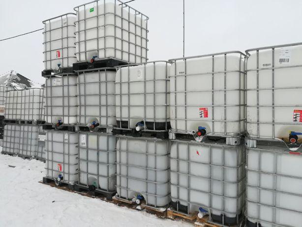 Zbiorniki1000l mauzer mauser paletopojemniki beczka.