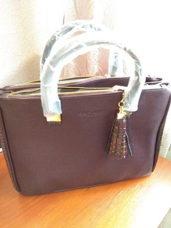 Продам женскую сумку Burgundy.