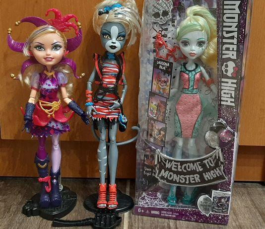 Monster high Purrsephone Laguna Blue Ever after Монстер Хай Mattel