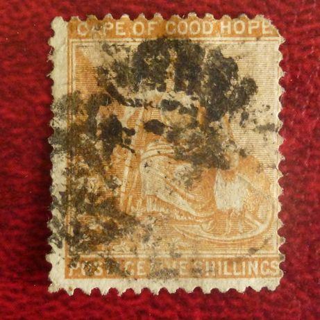 znaczki pocztowe- kolonie brytyjskie Cape of Good Hope 1871 SG 31 uszk