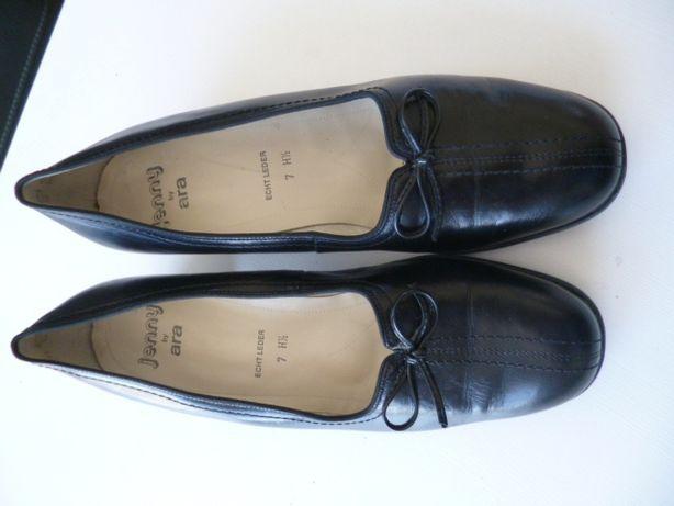 Czarne czółenka, buty Ara skóra rozm. - 40,5 - 7 -