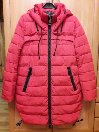 зимняя женская куртка курточка парка 50-52 р.