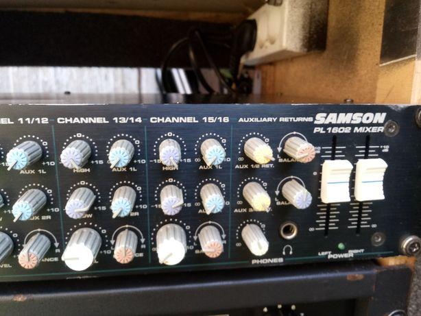 Mixer Samson PL 1602