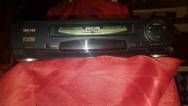Magnetowid vhs philips vr254 + kable GRATIS