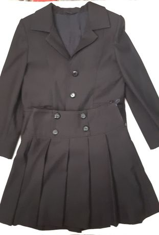 Школьная форма костюм ( пиджак, юбка, сарафан) для девочки