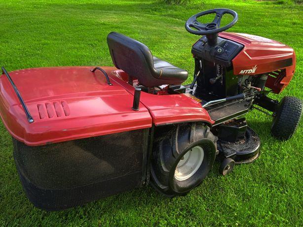 Kosiarka traktorek mtd 13 koni  jodełka kosz