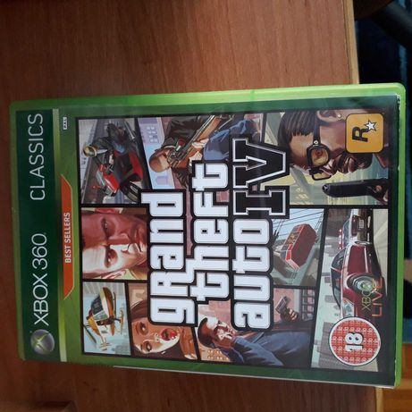 GTA do Konsoli xbox 360