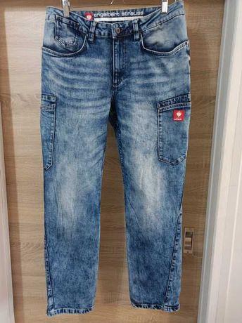 Engelbert Strauss spodnie jeans robocze 52 (pas do 96cm)