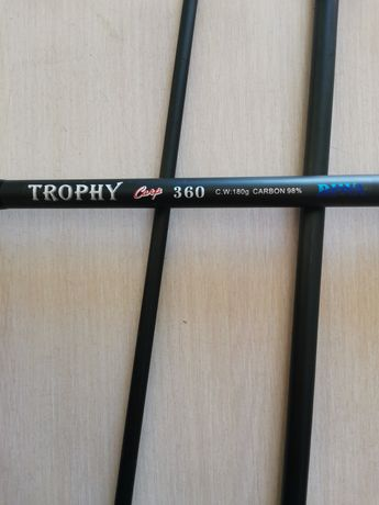 Карповое удилище Diwa Trophy 360, 180гр