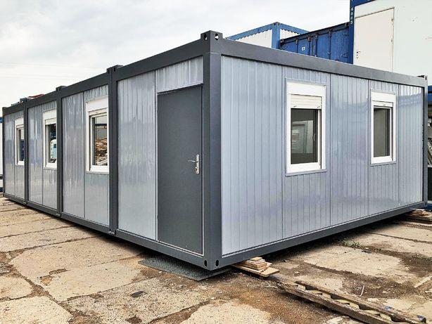 Kontener BIUROWY 4-modułowy Socjalny Biuro Budowy ~ 60m2 na zamówienie