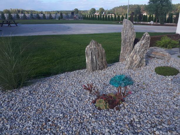 Kamień ozdobny DEKORACYJNY frakcja 8-16, 16-22, 22-32, 32-64 transport