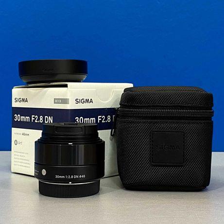 Sigma ART 30mm f/2.8 DN (MFT - Micro 4/3) - NOVA - 5 ANOS DE GARANTIA