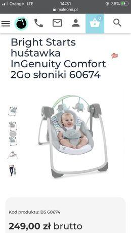 Huśtawka Bright Starts Ingenuity Comfort 2go