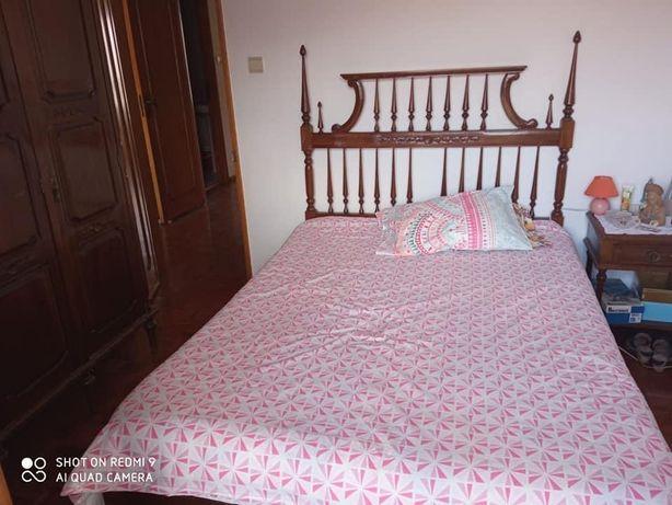 Vendo quarto de casal usado oferta 1 colchaõ