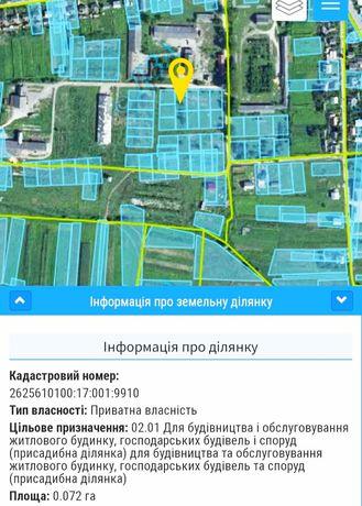Земельна ділянка(м.Тлумач)