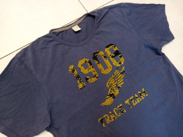 LEE COOPER VINTAGE - NOWA!!! Stylizowana Koszulka Męska rozmiar L