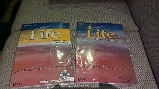 Life intermediate podręcznik i książka+3 płyty