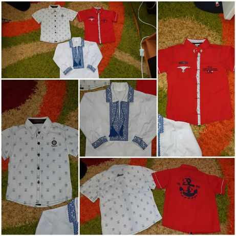 Сорочки на хлопчика, вишиванка