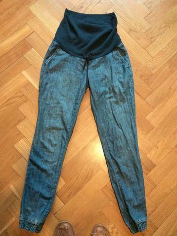 Spodnie ciążowe H&M r.36 jak nowe,wygodny materiał