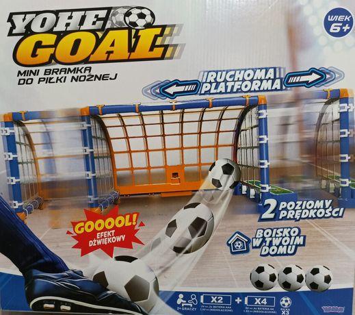 Mini Bramka Do Piłki Nożnej Ruchoma Platforma Na Baterie
