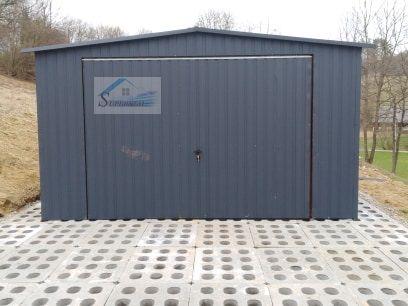 Garaż w kolorze 4x5, garaż blaszany, dowolne wymiary szybka realizacja