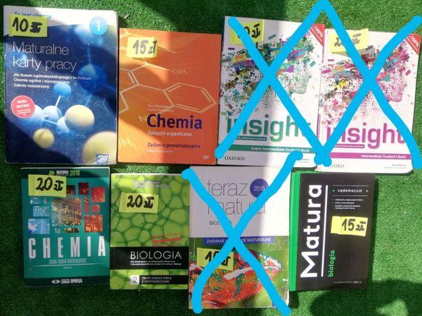 Książki i podręczniki na profil biol-chem