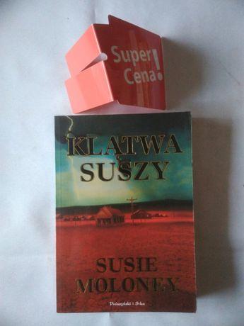 """książka """"klątwa suszy"""" Susie Moloney"""