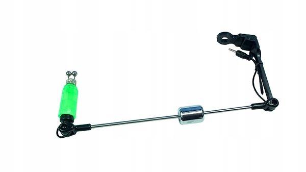Swinger z diodą led zielony, metalowa końcówka