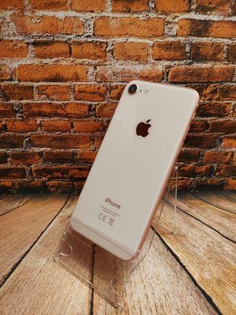 Telefon Apple iPhone 8 64GB złoty - jak nowy ! Bat. 100% - gwarancja