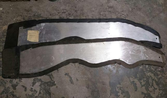 Щиты защитные передних крыльев ЗАЗ 968М