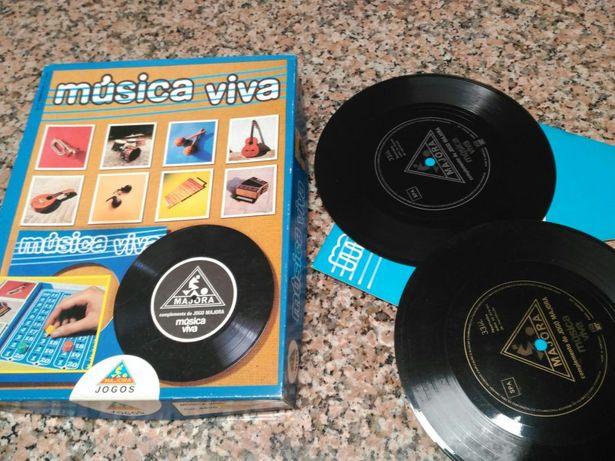 Jogo Majora vintage Musica Viva