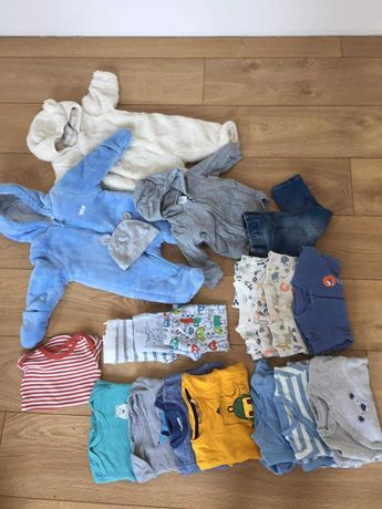 Ubranka dla chłopca 62 - 74