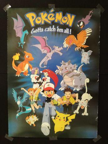Poster Pokémon 1ª geração