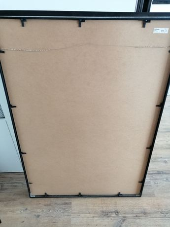 Moldura Stromby  Ikea 70x100 preta