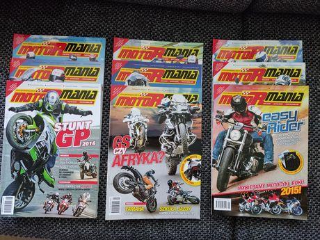 Motormania 2016 miesiecznik + gratis