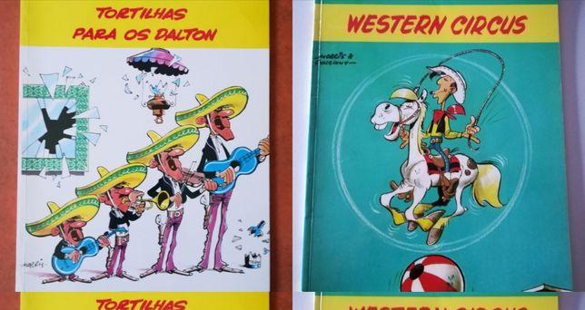 45 Livros Lucky Luke, Chick Bill, Os Túnicas Azuis