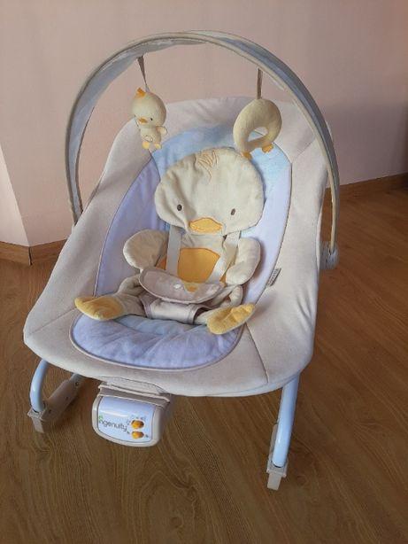 Дитячий шезлонг крісло-качалка з музикою та вібруванням Ingenuity