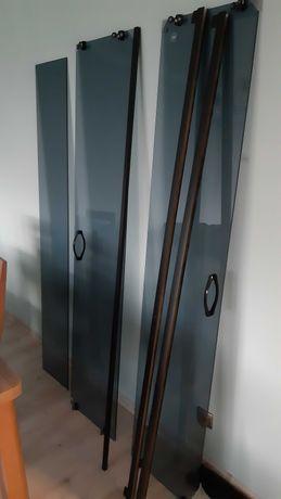 Kabina prysznicowa 780x780x1900 ciemne szkło