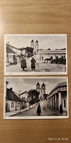 Pocztówki z okresu II RP. Fot. Fritz Krauskopf.