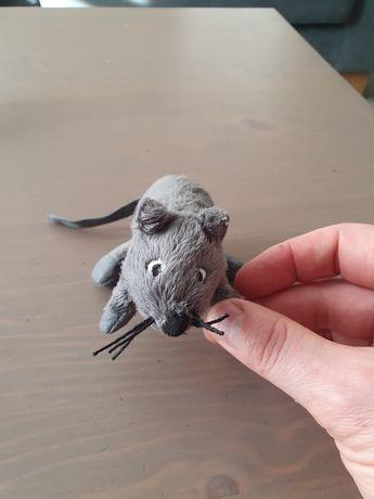 Mysz myszka Ikea gosig maskotka pluszak szara
